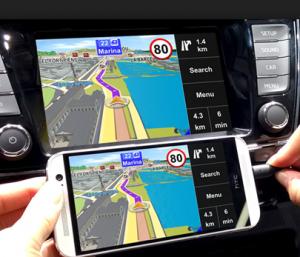 navigation car